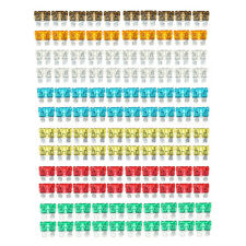120x Standard 5-30 Amp Blade Fuse Car Truck Assorted Mixed 5 7.5 10 15 20 25 30
