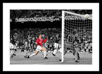 Solksjaer Goal Manchester United 1999 Champions League Spot Colour Photo (SP293)