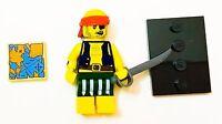 LEGO Minifigures Series 16 Scallywag Pirate 71013  Mini Figure Treasure Map eyeP