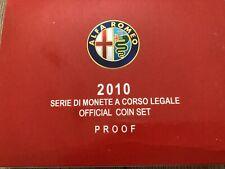 REPUBBLICA ITALIANA DIVISIONALE PROOF 2010 - CON 5 EURO IN ARGENTO - ALFA ROMEO