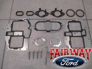 11 thru 16 Super Duty OEM Ford 6.7L Powerstroke Diesel EGR Cooler Gasket Kit