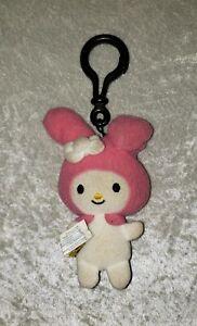 Sanrio Build A Bear Hello Kitty Plush Mini Key Chain Backpack Clip