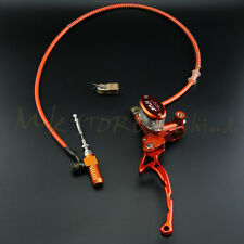 Motorcycle Master Cylinder Reservoir Hydraulic Clutch&Lever Electric & Oil Hose