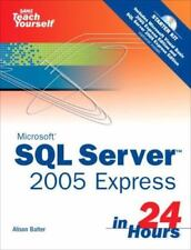 Microsoft Sams Teach Yourself SQL Server 2005 Express in 24 Hours-ExLibrary