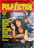 "Reproduction ""Pulp Fiction"" Poster, Quentin Tarantino Home Wall Art"