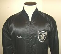 Vintage RAIDERS Hipster Jacket Men's Large (See pics of Logos) Hartwell Company