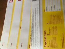 10 X DL AUST POST. EXPRESS POST WITHIN AUSTRALIA DOCUMENT ENVELOPES (Small)