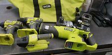 Ryobi 5 piece combo tool set.