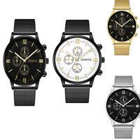 Business Men Women Automatic quartz Mechanical Stainless Calendar Military Watch
