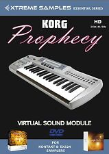 XTREME samples Korg Prophecy HD VIRTUAL SOUND MODULE Logic exs24 | Ni contatto