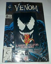 "Venom n°0 Zero Platinum Platino Blisterato Marvel Italia Con Gadget ""Agenda"""