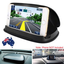 "Black Cell Phone Holder Car GPS PDA Dashboard Mount Stand Bracket 3-7"" Universal"