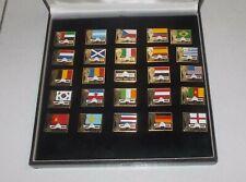 ITALIA 90 Box 25 spille pins FIFA WORLD CUP 1990 Mondiali Calcio MARS M&M's
