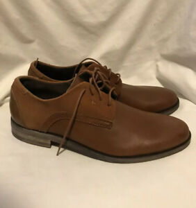 Stacy Adams Men's Dress Shoes Cognac Brown Barstow 8 NWB Leather