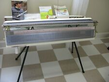 New listing Brother Knitting Machine Kh-260 + Kr-260 Ribber w/ Stand Original Made in Japan