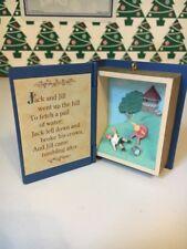 Jack & Jill Mother Goose Series Christmas Tree Hallmark Keepsake Ornament NIB