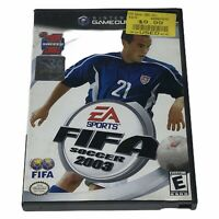 FIFA Soccer 2003 (Nintendo GameCube, 2002) Complete w/Manual Tested Works