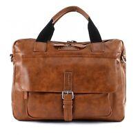 CAMP DAVID Mount Bear Business Bag Umhängetasche Cognac Braun Neu
