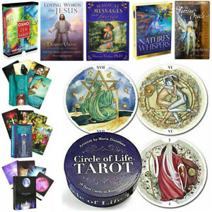 Tarot Daquan English - Oracle Card Deck Family Party Board Game Divination Fate