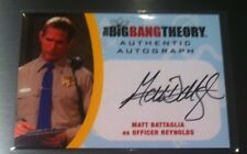 2016 BIG BANG THEORY SEASONS 6 & 7 MATT BATTAGLIA  AUTO / OFFICER REYNOLDS *MBA2