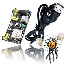 Arduino MB102 ESP8266 ESP32 ESP8285 Power Set Netzteil + USB Kabel 3,3V 5V 700mA