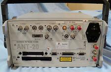 Wg Jdsu Acterna Ant-20 Network Tester with Optical Power Splitter, Ref. #38906
