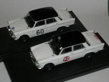 Mod90 1/43 TK.18 Transkit Fiat 1800 #92 Rally Montecarlo 1960 & #60 RAC '62