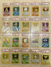 Base Set 2 Complete Holo Collection | PSA 9 | 10 with Swirls | Pokemon | Mint