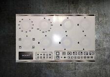 INDESIT KP9508, KP9507E/G compatible fascia clear vinyl sticker set.