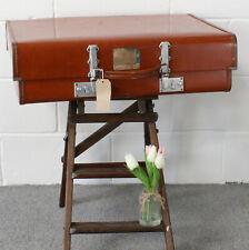 Vintage Revelation Expanding Suitcase with Key -1960's. Has Provenance - RAF.
