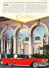 1958 Cadillac The Breakers Palm Beach FL Vintage Advertisement Car Print Ad J482