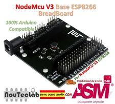 NodeMCU V3 Base Board Breadboard for ESP-12E from ESP8266 esp 12E for NodeMcu V3