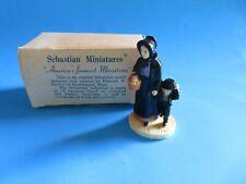 """Vintage Sebastian Miniatures """"Amish Folk� 1947"""