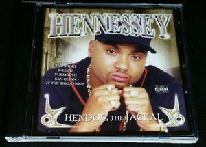 "Hennessey ""Hendog the Jackal"" *1998 CD ft. TOO SHORT/YUKMOUTH/JT THE BIGGA FIGGA"
