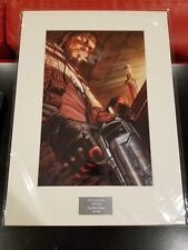 Starcraft RAYNOR Alex Ross #547 Laser Cell Lithograph Collectible