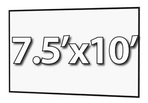 DA-LITE 90817 - FAST-FOLD DELUXE 7.5'x10' REPLACEMENT SURFACE - DA-TEX REAR PROJ