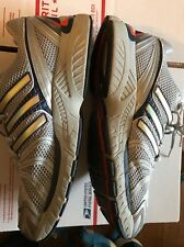 Adidas Adistar Control 5 Mens Running Shoes Silver/Gray/Orange Size 13