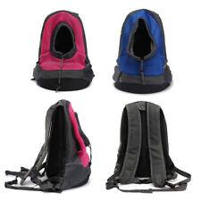 Pet Front Backpack Dog Puppy Carrier Net Double Sling Shoulder Travel Note Bag