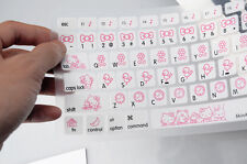 "Hello kitty Silicone Soft Keyboard Cover Skin For Apple Macbook Air 13"" 15"""