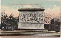 Soldiers' and Sailors' Memorial, Albany NY, Vintage Used Postcard