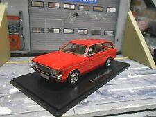 FORD Granada MK 1I Turnier hell rot red 1972 NEO Resin NEU 1:43