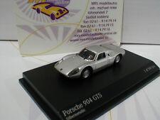 """Minichamps 877065720 # Porsche 904 GTS Baujahr 1965 in """" silbermetallic """" 1:87"""