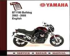 Yamaha BT1100 BT 1100 Bulldog 2002 - 2005 Service Repair Workshop Manual