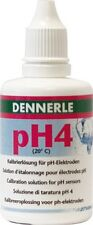 Dennerle pH4 Calibration Buffer Solution for pH Electrodes 50ml (pH 4 at 20C.)