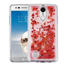 Glitter Quicksand Case Shockproof Cover for LG Aristo Fortune K8 2017 Phoenix 3