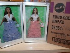 BOTH SILVER LABEL BIRTHDAY WISHES IN SHIPPER BARBIE & KAYLA STUNNING MINT NRFB