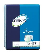 TENA Super Briefs Adult Diapers Medium, MD, 56/Case **FREE SHIPPING**
