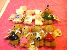 8 Boyd's Bear Merry Mama Bear Kisses Hershey's Kisses Commemorative W/ Tags