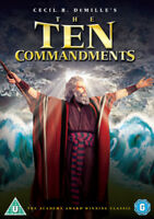 The Ten Commandments DVD (2013) Charlton Heston, DeMille (DIR) cert U 2 discs