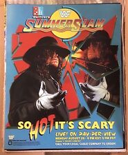 WWE WWF SummerSlam 1994 Poster 16x20 Undertaker
